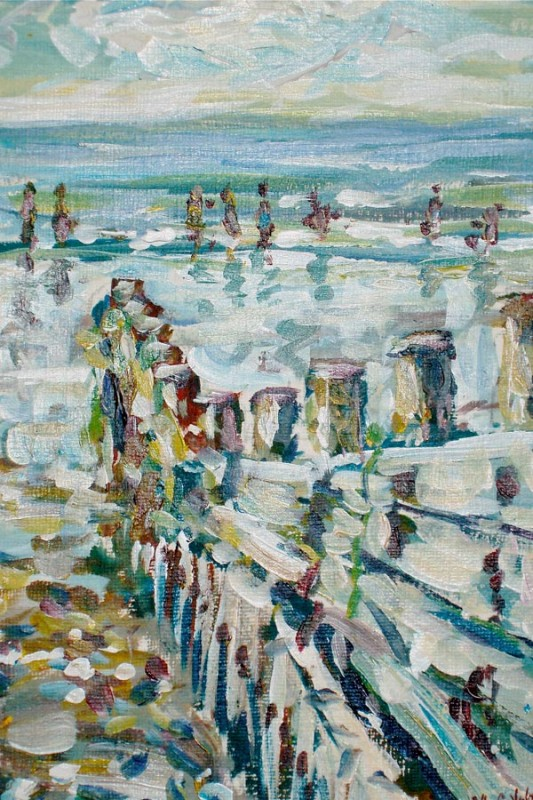 coastal scene by Mark Weston