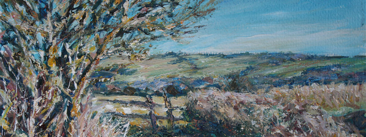 Acrylics and Watercolours by Mark Weston